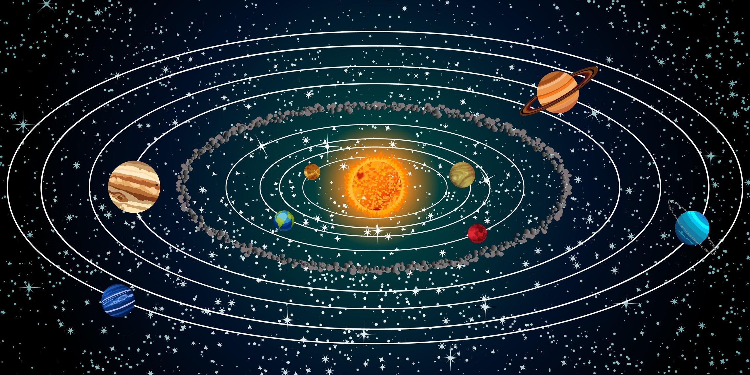 Ученые отыскали десятую планету Солнечной системы величиной сМарс