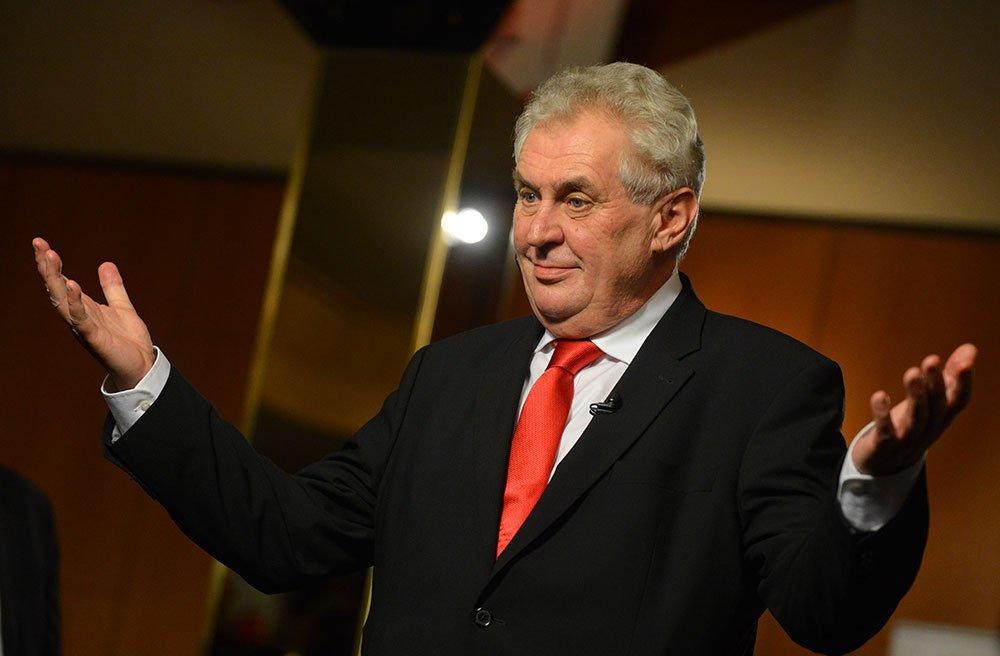 Президент Чехии поддержал идею референдума овыходе изЕС
