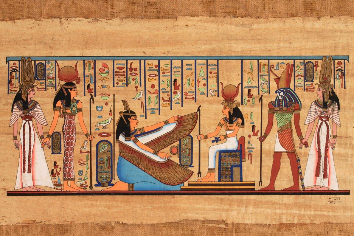 В Египте найдены рисунки возрастом 5000 лет