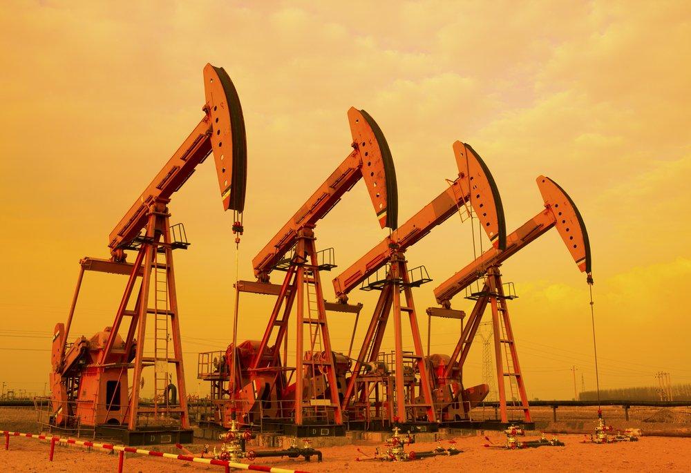Стоимость барреля нефти Brent подпрыгнула выше 46 долларов