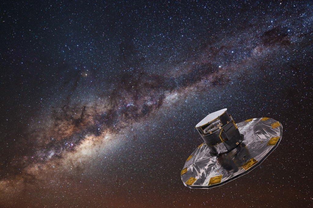 Самые быстрые звезды Галактики нашел зонд GAIA