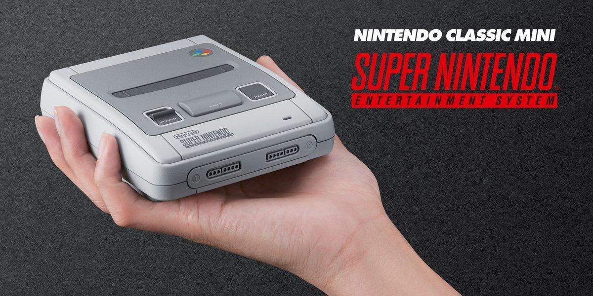Легендарная консоль SNES от Nintendo появится в продаже 29 сентября