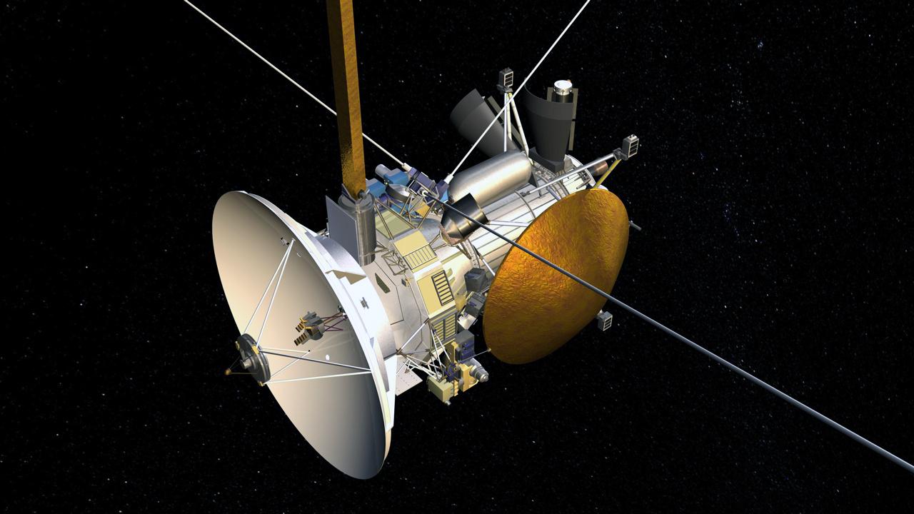 NASA поделилось завораживающими фото заката наСатурне