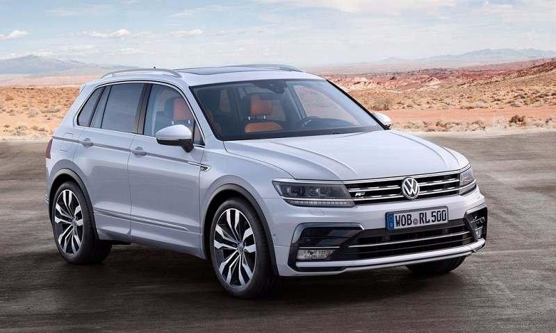 Новый Volkswagen Tiguan вошел в десятку европейских бестселлеров