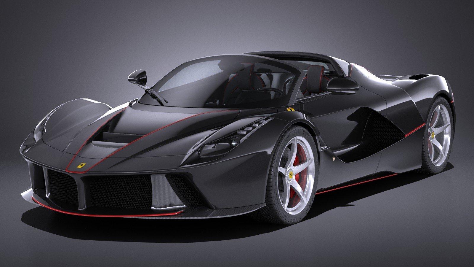 Итальянский производитель Феррари отказалась торговать LaFerrari Aperta американскому коллекционеру