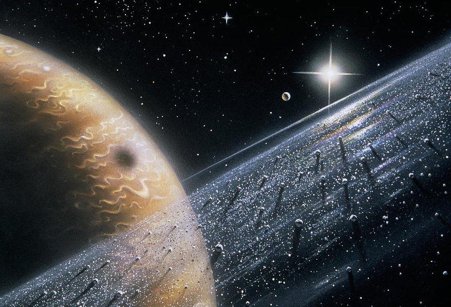 Астероид около Юпитера вращается по неимоверной линии движения — Астрономы