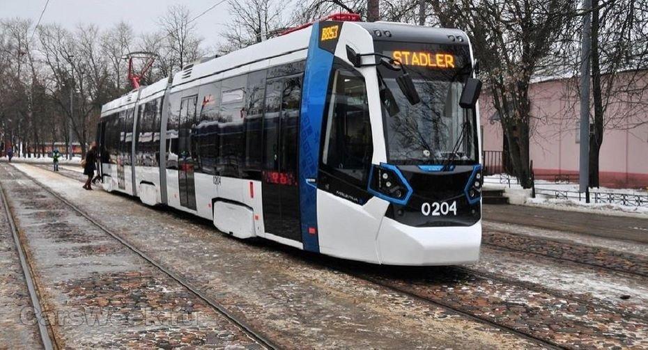 В северной столице запустят новые трамваи Stadler
