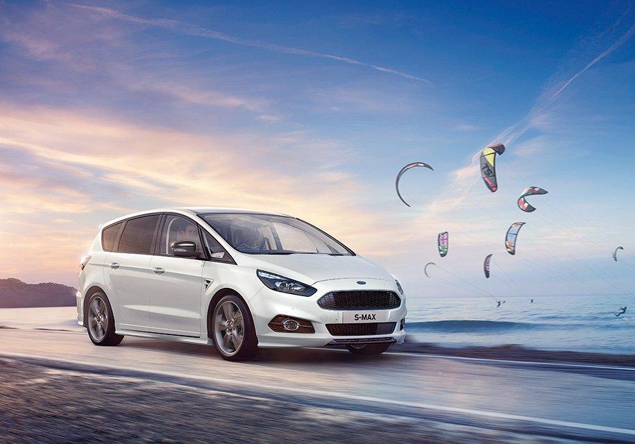 Для Форд S-Max стал доступен спортивный пакет ST-Line