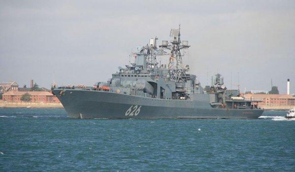 Оперативную группу ВМФ России в Средиземном море усилили до 15 боевых кораблей