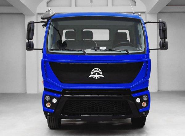 В Москве состоялась презентация грузовика возрожденной марки Avia