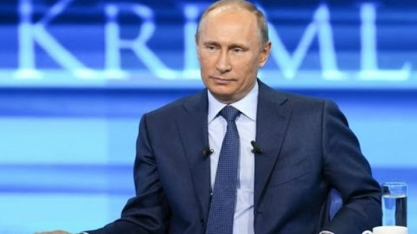 Прямая линия с Путиным пройдет 15 июня