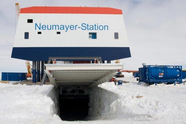 В Антарктиде над станцией Neumayer III зафиксировали НЛО