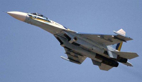 В Крыму по тревоге взлетели истребители Су-27