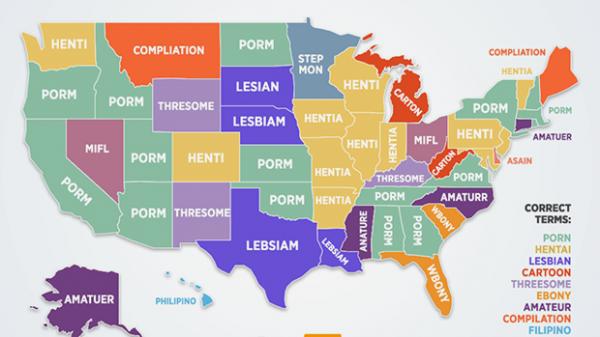PornHub представил самые частые опечатки при поиске порно