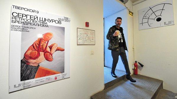 Шнуров заявил о готовности выставляться в Эрмитаже