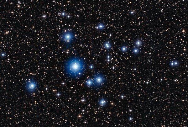 В зарождающейся звезде обнаружены важные для жизни соединения