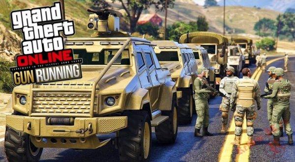 Rockstar Games выпустит новое обновление для GTA Online Gunrunning