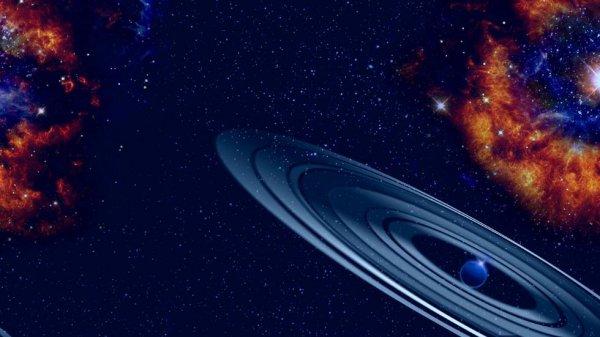 Ученые нашли в космосе гигантский клон Сатурна