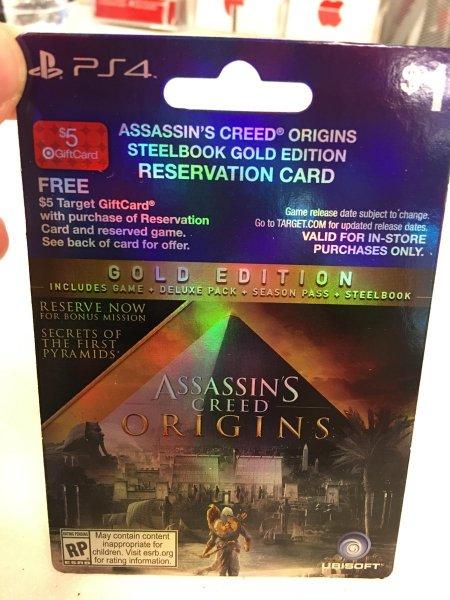 В сеть слили обложку Assassin's Creed: Origins