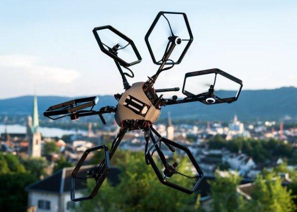 Швейцарские студенты разработали гексакоптер повышенной маневренности