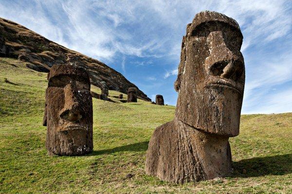 Ученые расскрыли тайны древних статуй с острова Пасхи