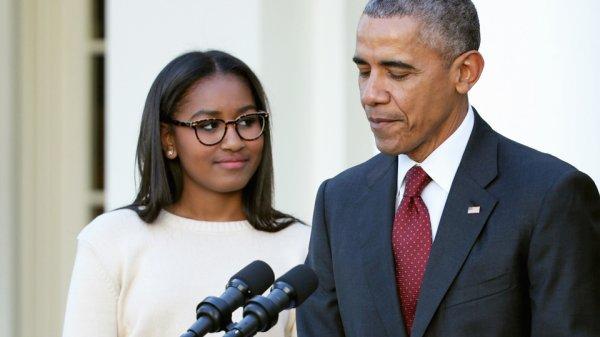 Настоящее имя дочери Обамы шокировало соцсети