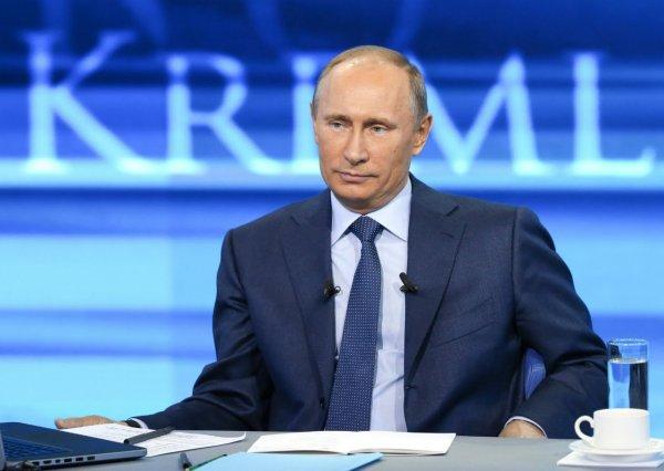 Прямая линия с Владимиром Путиным стартовала в Москве