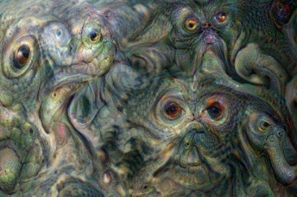Программа Deep Dream показала на Юпитере страшных существ