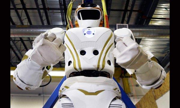NASA продемонстрировало, как работает марсианский робот Valkyrie