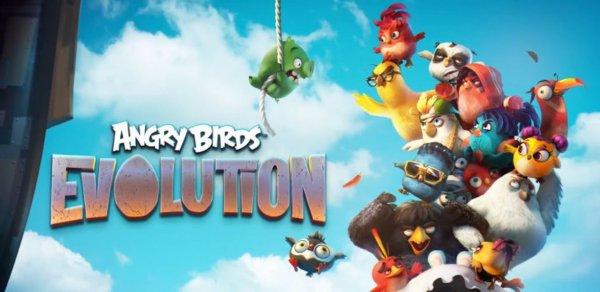 Компания Rovio выпустила новую версию игры Angry Birds Evolution