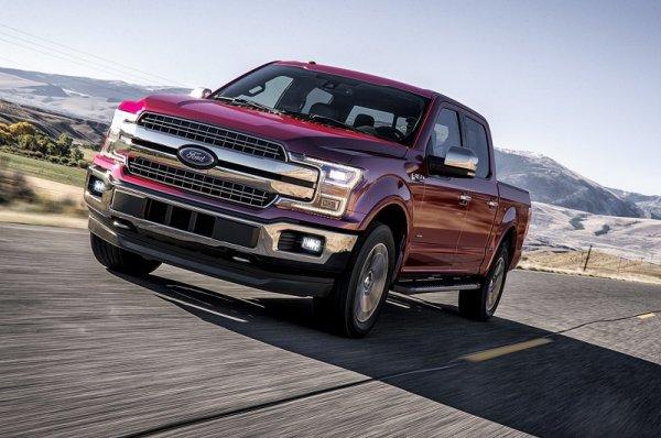 Пикапы Ford F-150 2018 получили более мощные двигатели