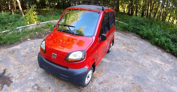 Электромобиль Bajaj Qute Qcar можно купить за 2000 долларов