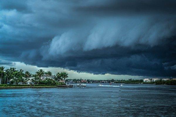 У тихоокеанского побережья Мексики образовался тропический шторм