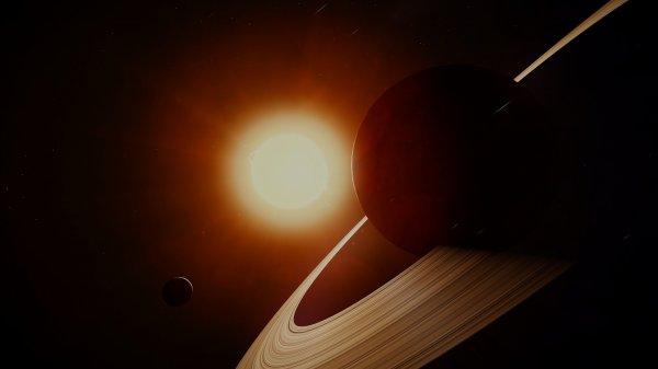 Спутник NASA сфотографировал невероятный закат на Сатурне