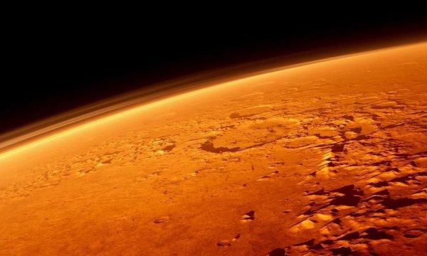На Марсе нашли окаменелые фрагменты тела пришельца