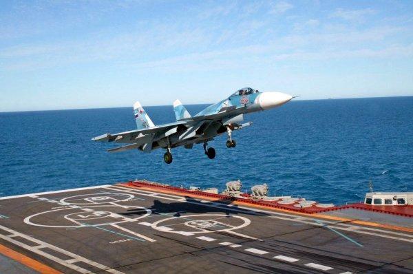 В РФ приступили к производству двигателей для самолетов Су-33