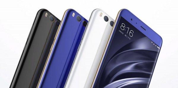 Оглашена цена смартфона Xiaomi Mi 6 в России