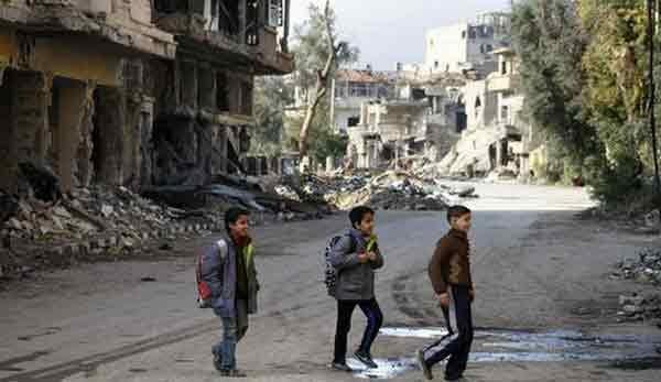 Сирийский Дейр-эз-Зор награни гуманитарной катастрофы