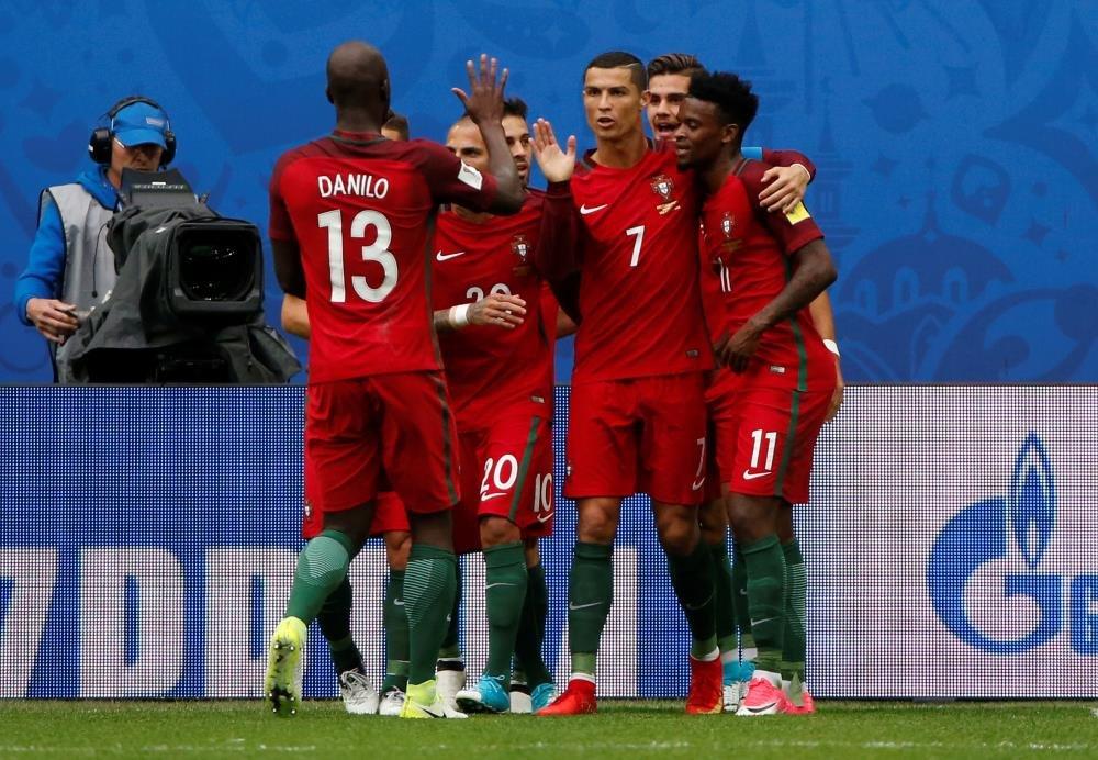 Обнародованы составы сборных Португалии иМексики перед ½ финала Кубка Конфедераций