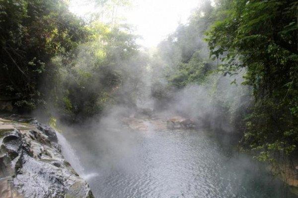 Ученые обнаружили вАмазонии неповторимую кипящую реку