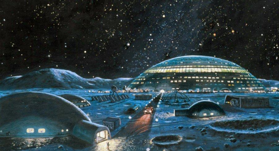 На обратной стороне Луны нашли город инопланетян Замок взлетная полоса и подземные туннели