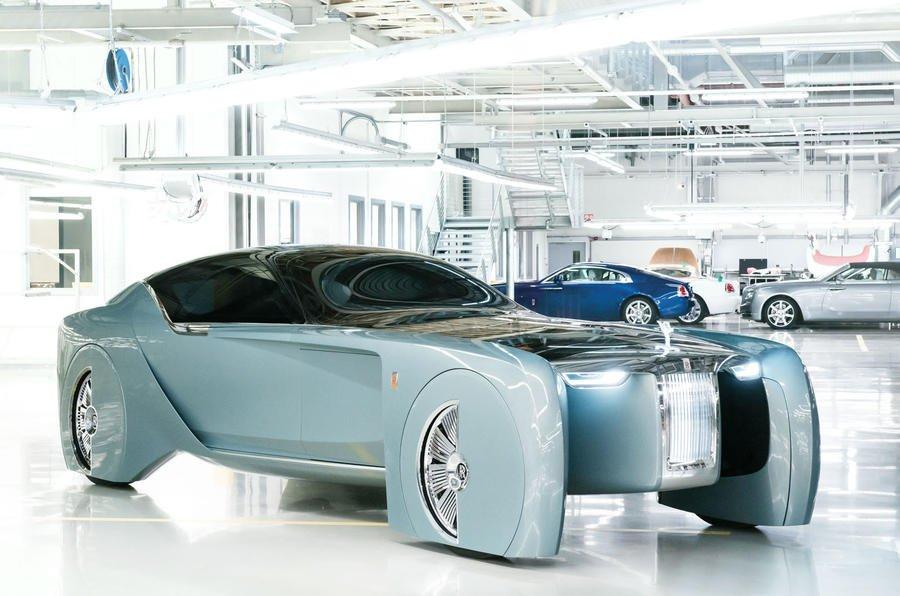 Роллс Ройс  небудет делать гибридные автомобили