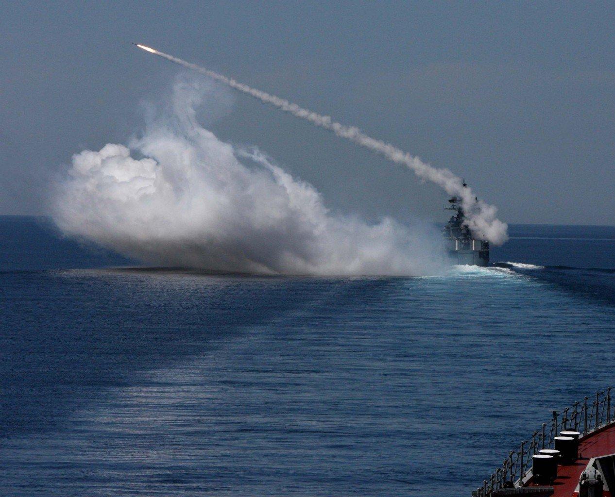 Военнослужащие Тихоокеанского флота «уничтожили» морскую цель из«Бастиона»