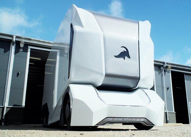 Einride представила прототип беспилотного электрогрузовика