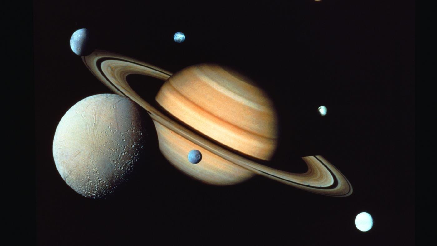 Учёные определили размер углеводородных волн наповерхности Титана