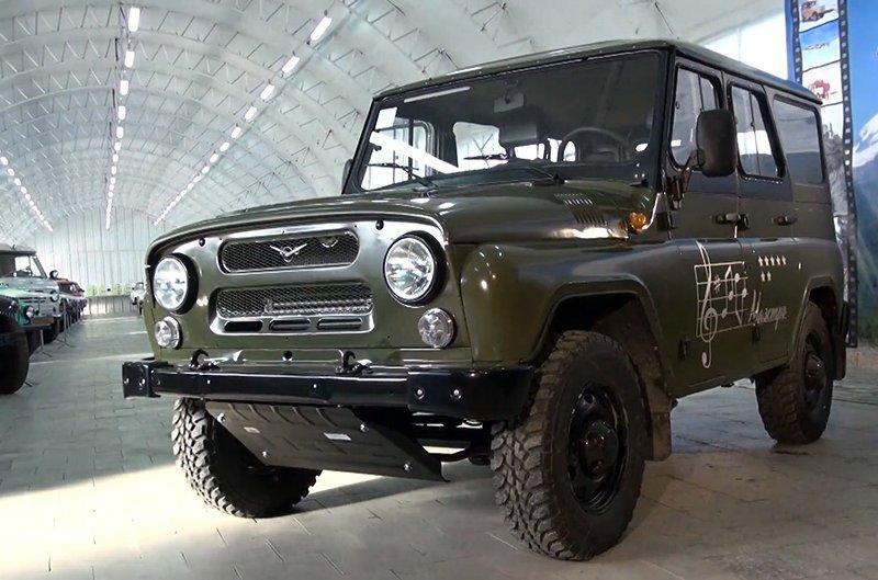 «УАЗ» разрабатывает праворульные версии джипов для иностранных рынков