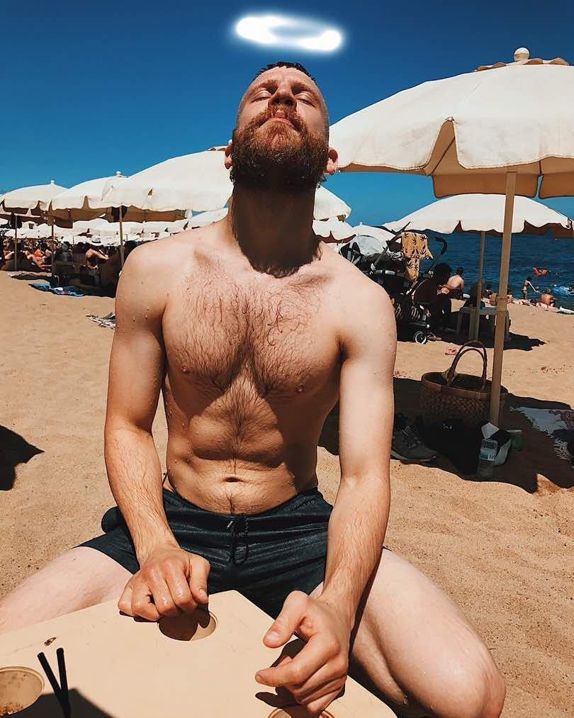 Возбудился на пляже фото