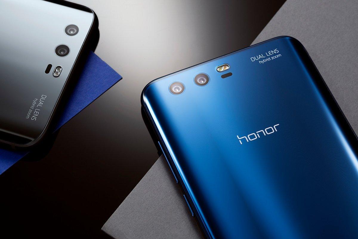 Huawei продала 1 млн телефонов Honor 9 за28 дней