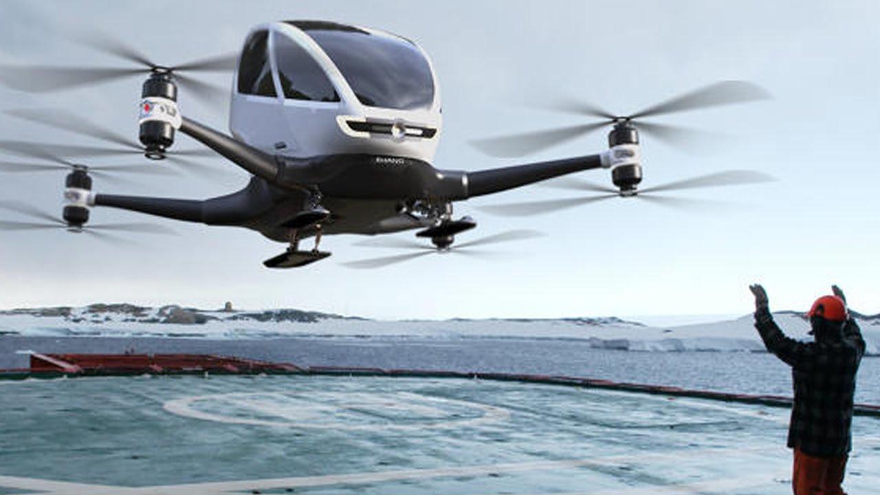 Будущее совсем недалёко: специалисты поведали о 5-ти самых настоящих летающих машинах