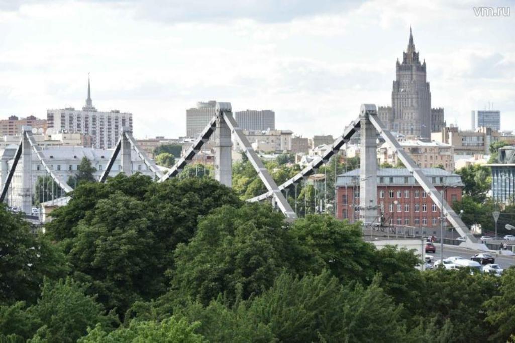 «Желтый» уровень опасности объявлен в столице России  на15июля